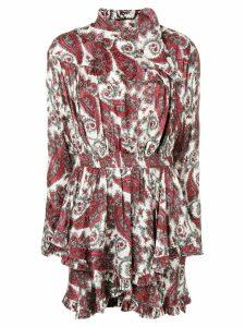 Isabel Marant floral print dress - Red