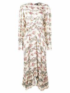 Isabel Marant floral print long dress - Neutrals