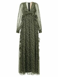 Nº21 star print maxi dress - Multicolour