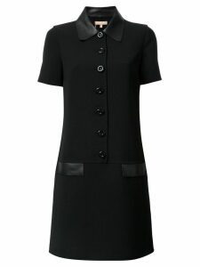 Michael Kors Collection shortsleeved shirt dress - Black