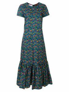 La Doublej floral print dress - Blue