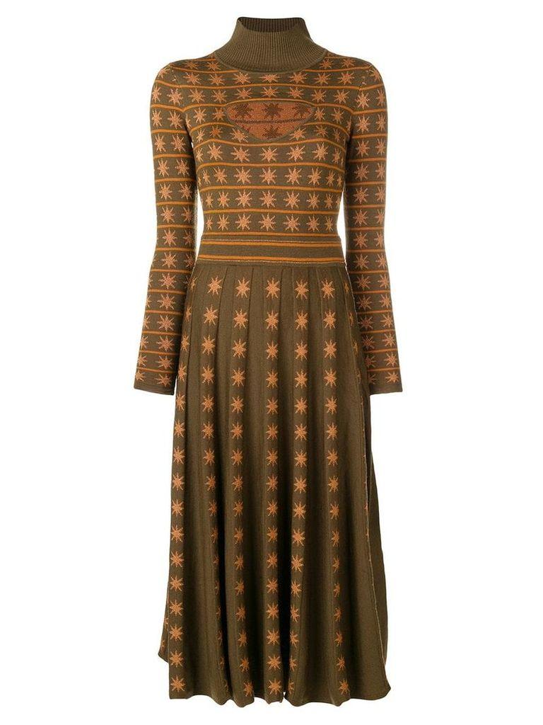 Temperley London Night knitted dress - Green