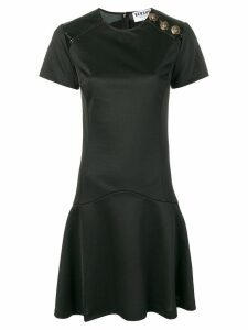 Versus button detail dress - Black