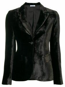 P.A.R.O.S.H. Rocking velvet blazer - Black