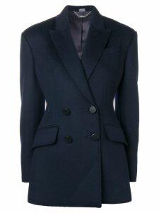 Alexander McQueen double-breasted blazer - Blue