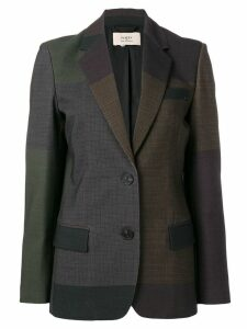 Ports 1961 colour blocked blazer - Brown
