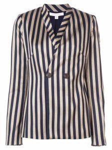 Jonathan Simkhai structured stripe blazer - Gold