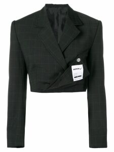 Seen Users cropped blazer - Black