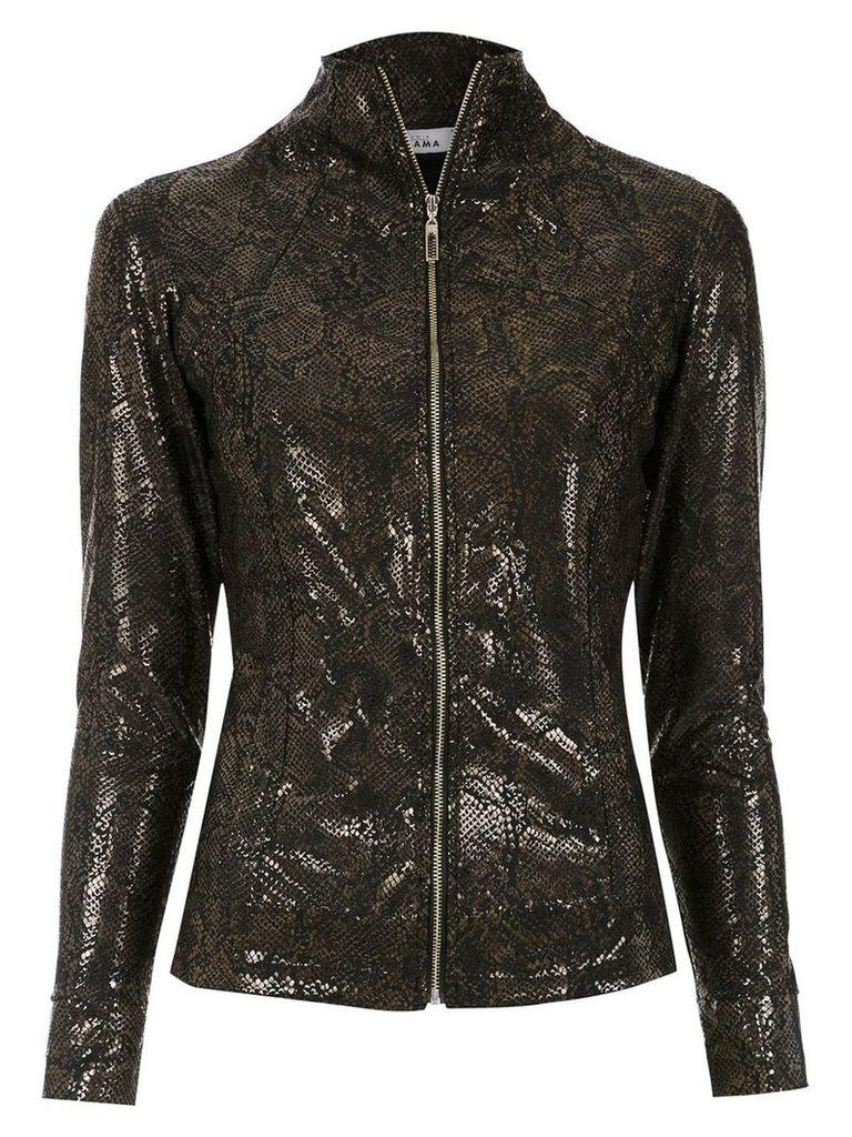 Amir Slama printed jacket - Black