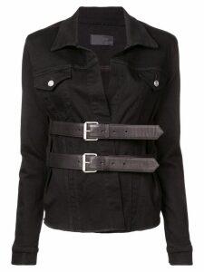 RtA bella overshirt jacket - Black