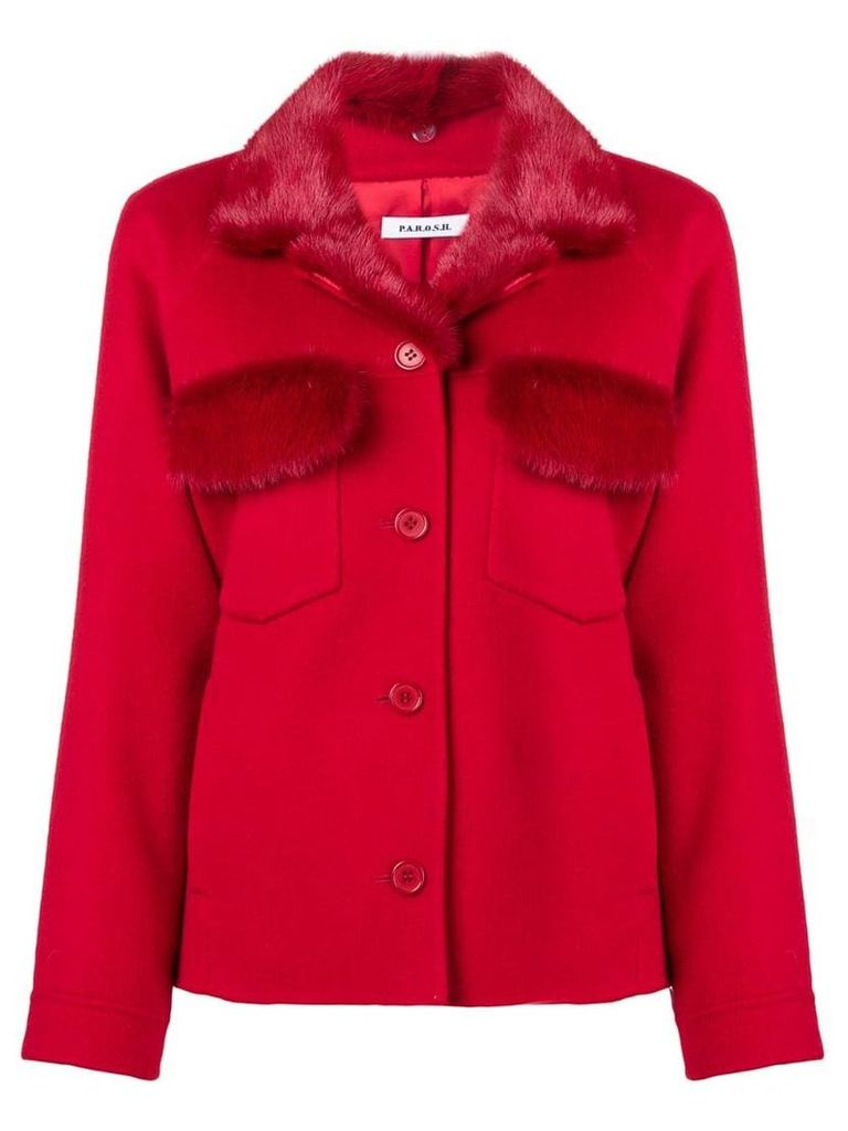 P.A.R.O.S.H. Lover jacket - Red