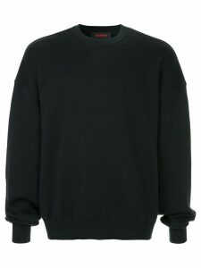 Caban knitted sweatshirt - Blue