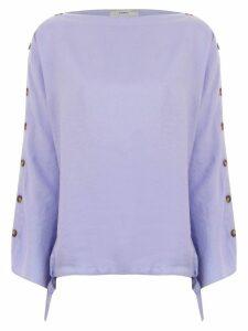 Egrey buttoned blouse - Purple