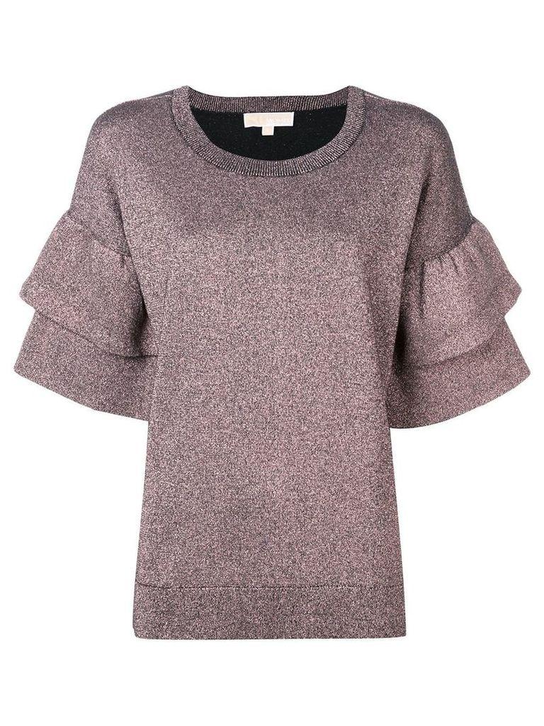 Michael Michael Kors lurex blouse - Pink