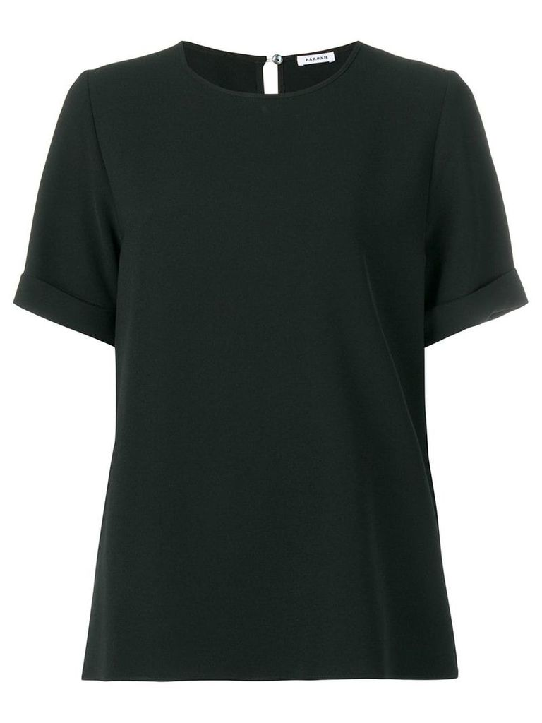 P.A.R.O.S.H. short sleeved blouse - Black