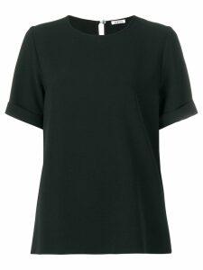 P.A.R.O.S.H. short sleeved blouse - Black