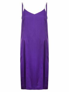 Nina Ricci cady slit top - Purple