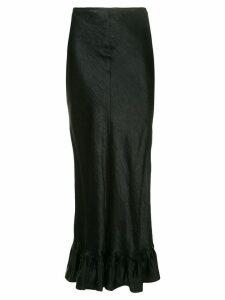 Georgia Alice ruffled hem skirt - Black