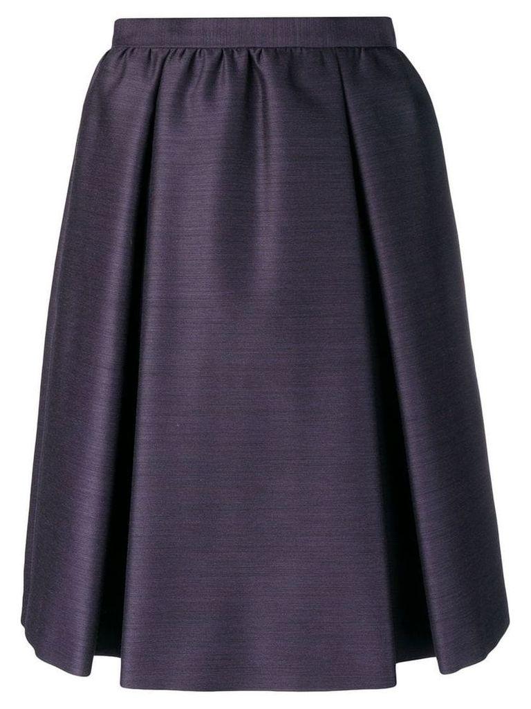 Bottega Veneta A-line skirt - Purple
