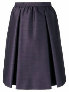 Bottega Veneta A-line skirt - Purple