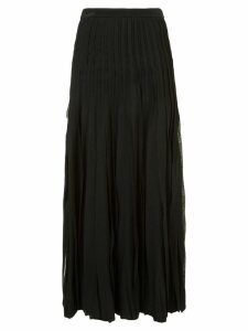 Carolina Herrera pleated skirt - Black