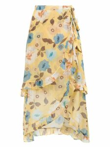 Clube Bossa Sania printed skirt - Yellow