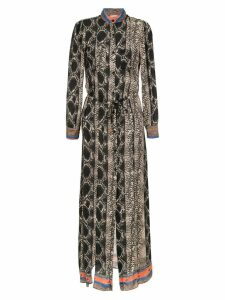 Amir Slama long dress - Brown
