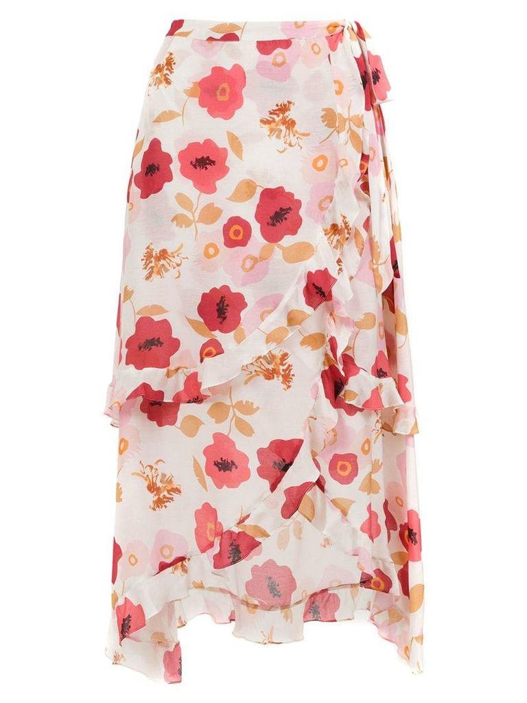 Clube Bossa Sania printed skirt - Pink