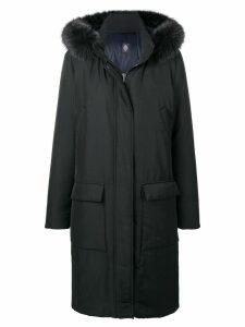 Eleventy long winter coat - Black