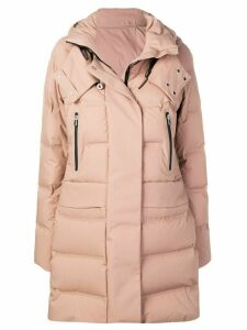 Peuterey hooded quilted coat - Neutrals