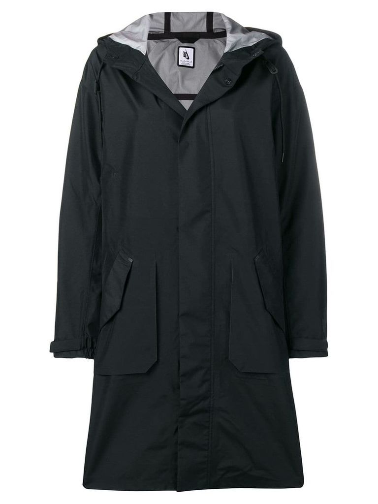 Nikelab hooded parka - Black