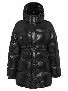 Prada Ciré nylon puffer jacket - Black