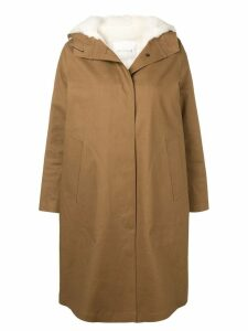 Mackintosh 0001 buttoned trench coat - Brown