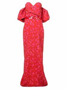 Sachin & Babi Tierra Gown - Red