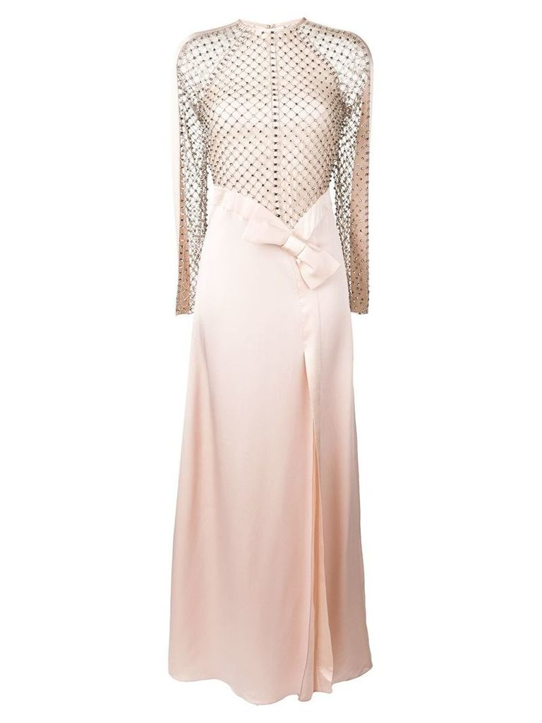 Temperley London Emblem long dess - Pink