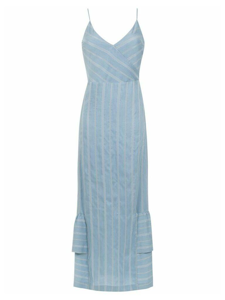 Olympiah Fiora long dress - Blue