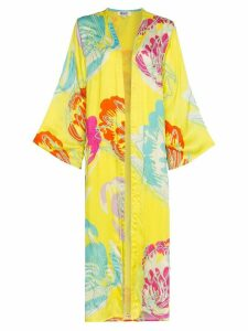 All Things Mochi Camila side split kimono - Yellow
