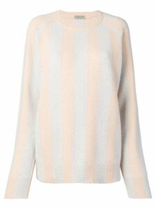 Bottega Veneta cashmere striped jumper - Grey