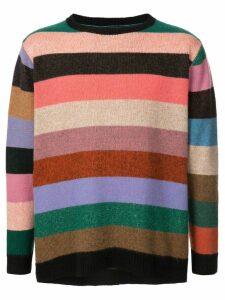 The Elder Statesman striped sweater - Multicolour