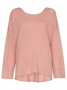 Le Kasha cortina cashmere jumper - Pink