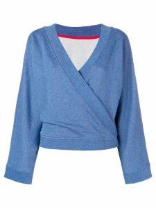 Karl Lagerfeld Kimono sweatshirt - Blue