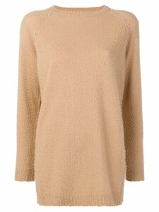 Tela bobble effect jumper - Neutrals