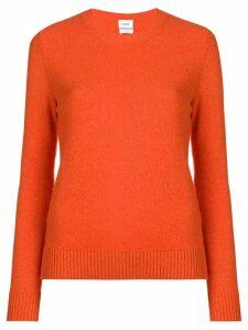 Barrie round neck jumper - Orange
