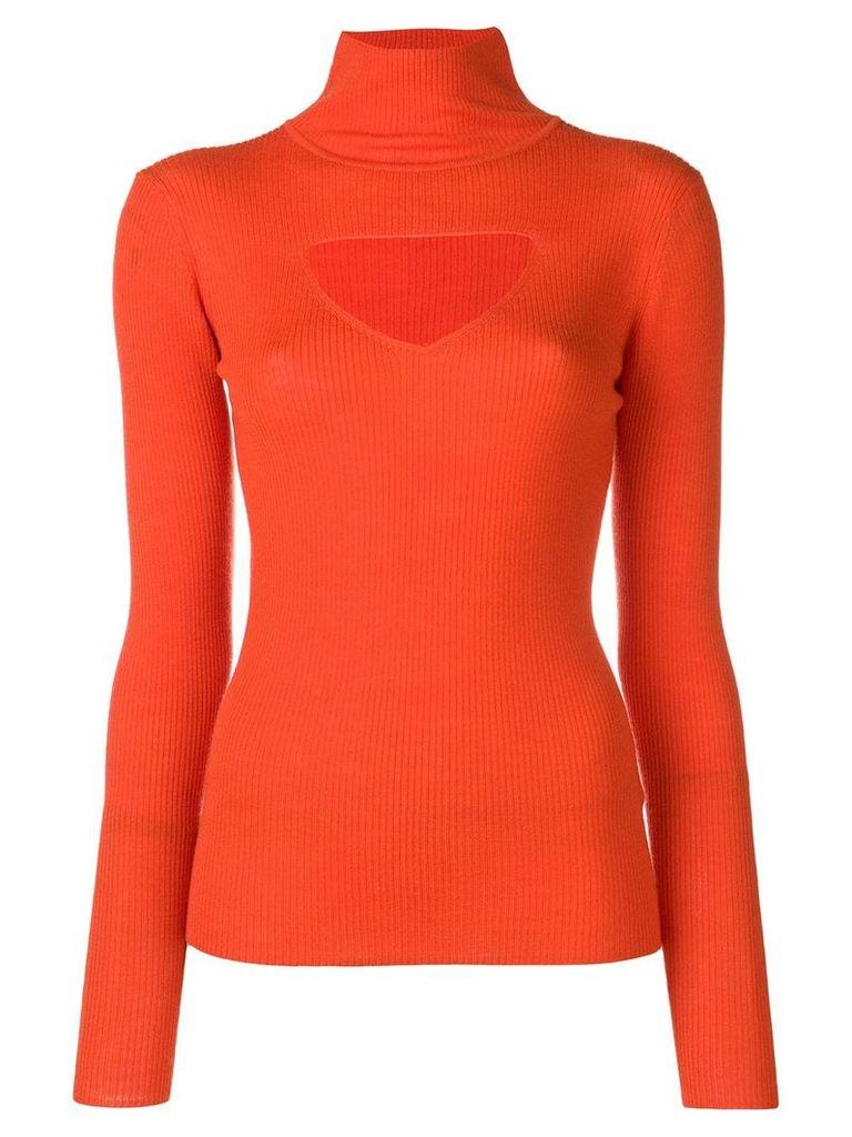 Temperley London Gravity knit jumper - Orange