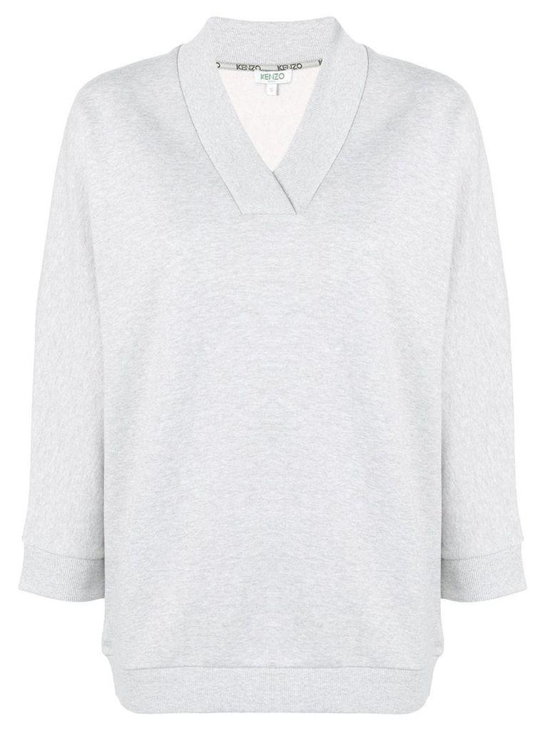 Kenzo V-neck sweatshirt - Grey