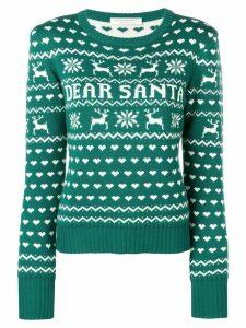 Philosophy Di Lorenzo Serafini 'Dear Santa' Christmas sweater - Green