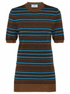 Prada gilttered sweater - Brown
