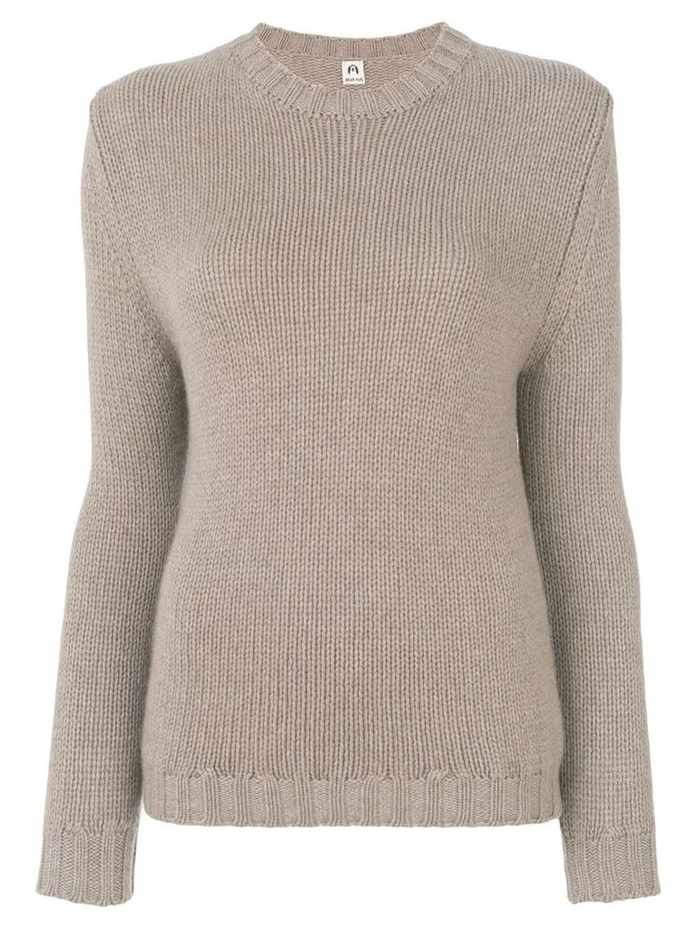 Bear Hug knit jumper - Neutrals