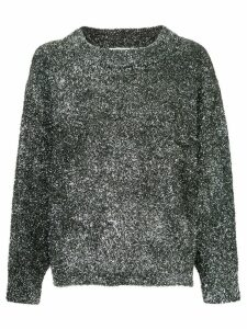 Georgia Alice Sparkle oversized jumper - Metallic