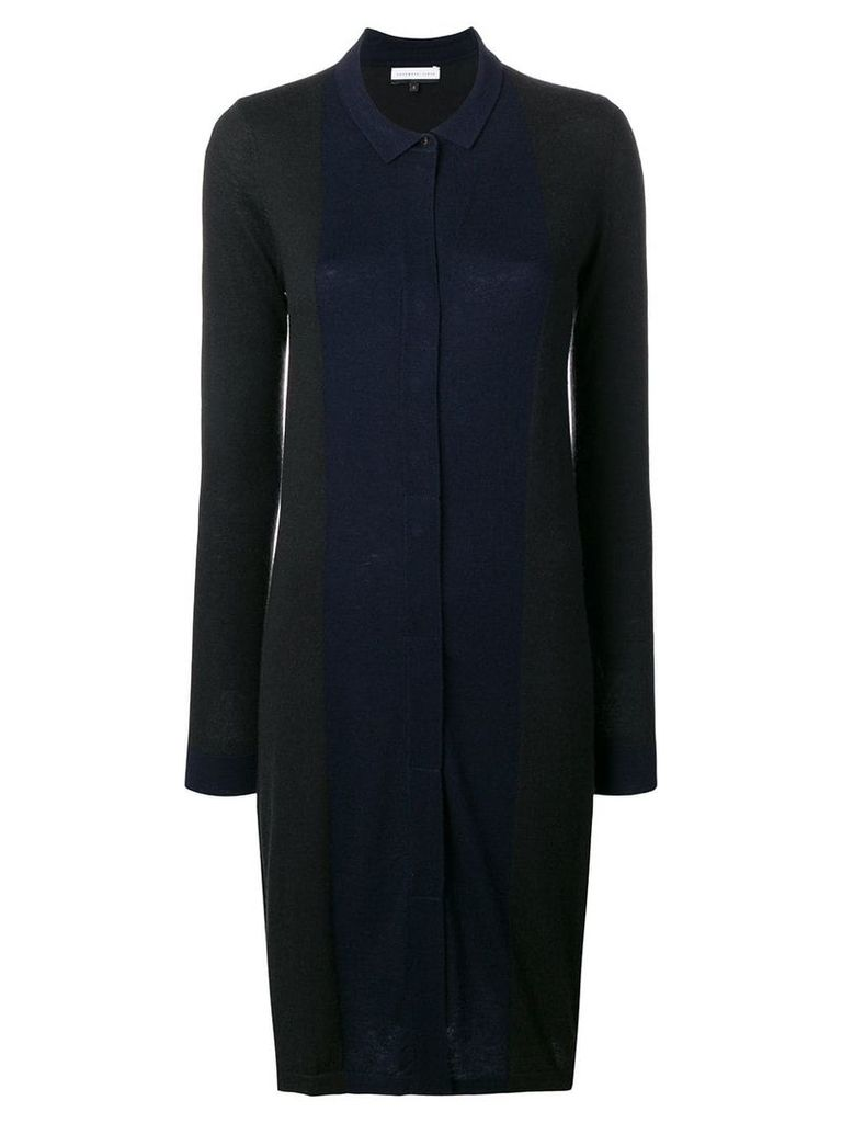 Cashmere In Love Natya two-tone sweater dress - Black